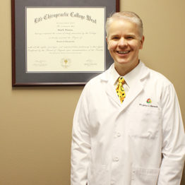 Dr. Olaveson with his credentials
